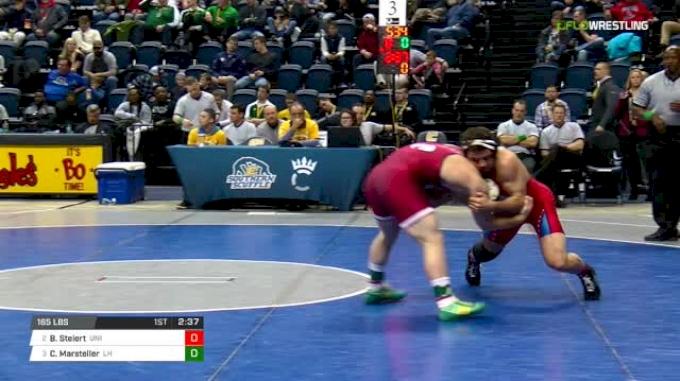 165 lbs Semifinal - Bryce Steiert, Northern Iowa vs Chance Marsteller, Lock Haven