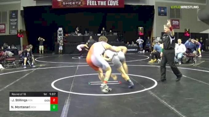 182 lbs Round Of 16 - Josh Stillings, Pennridge vs Noah Montanari, Richmond