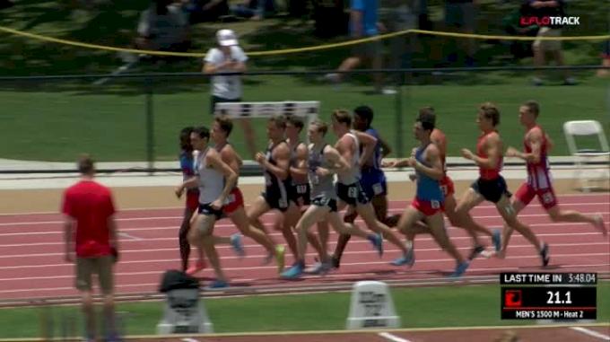 Men's 1500m, Heat 2