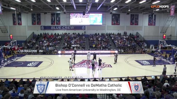 No. 15 DeMatha (MD) vs. Bishop O'Connell   2.26.18   WCAC Boys Semifinals