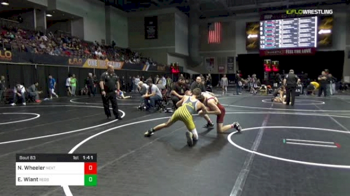 126 lbs Round Of 64 - Nathaniel Wheeler, Next Level Wrestling vs Ethan Wiant, Redbank Valley