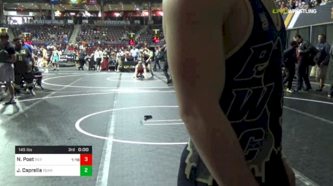 145 lbs Round Of 64 - Peyton Pruett, Flying Deuce's vs Justice Jones, Team Nauman Wrestling Club