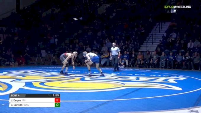 149 lbs Jarrett Degen, ISU vs Colten Carlson, SDSU