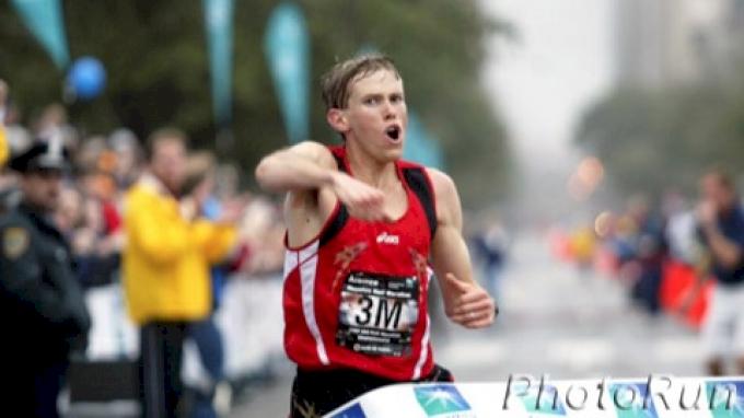 Ryan Hall's American Record at the 2007 Houston half-marathon Video.