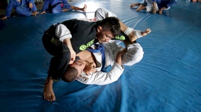 Rolling in Rio: Luciano Queiroz, GFTeam Black Belt, Battling In +100f Heat