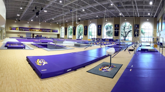 The Grand Tour: LSU's New Training Facility