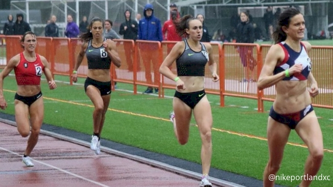 TASTY RACE: Kate Grace Throws Down 2:00 in Pouring Rain