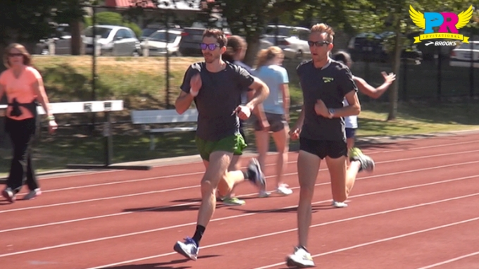 Brooks Beasts Pre-Meet Routine before the Brooks PR Invite