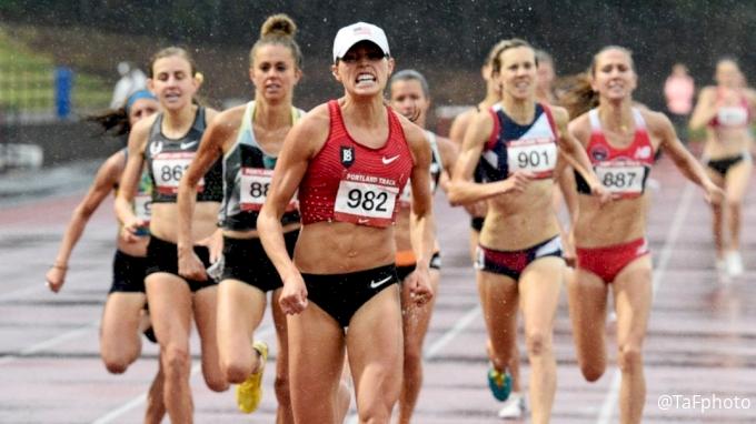 Women's 1500m, Heat 1 - Colleen Quigley Beats Star Field, Returns From Injury