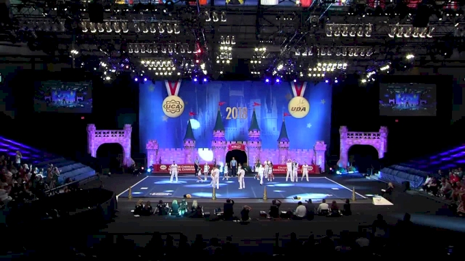 University of South Florida [2018 Cheer Division IA Semis] UCA & UDA College Cheerleading and Dance Team National Championship