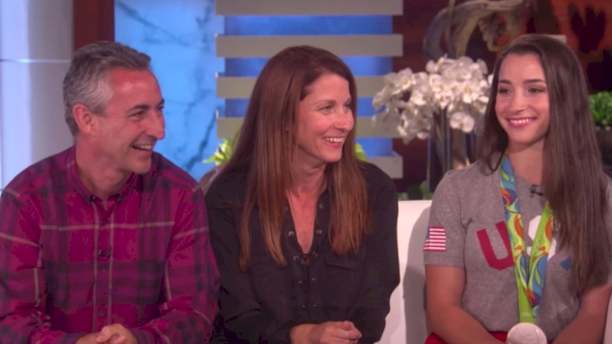 Aly Raisman on Ellen