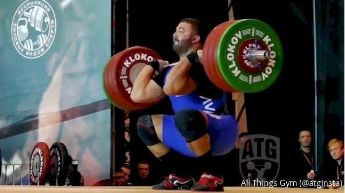 Dmitry Berestov thrusters 200kg