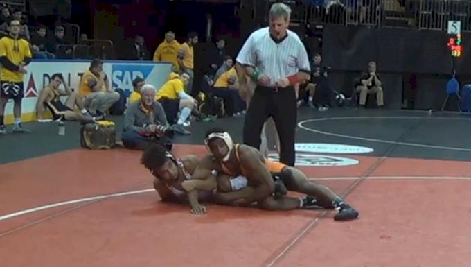 149 Finals - Alfred Bannister, Maryland vs Jordan Laster, Princeton
