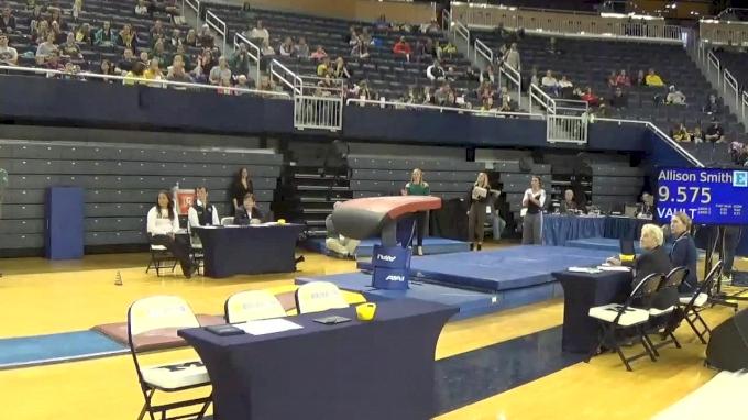 Megan Hultgren- Vault(9.675), EMU- 2017 Michigan vs. EMU Intersquad