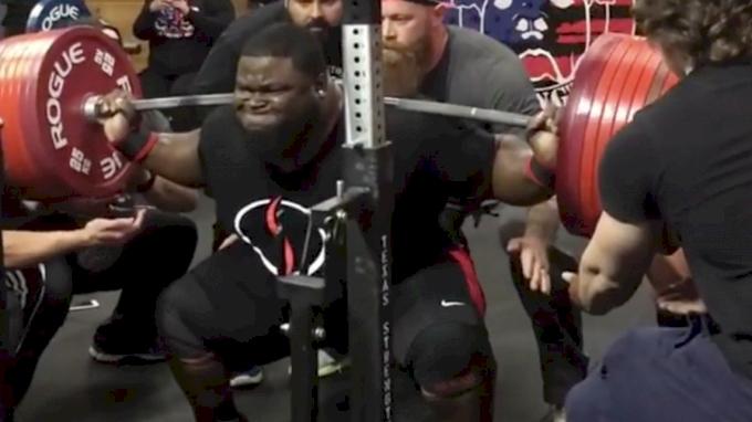 Ray Williams squats 1015