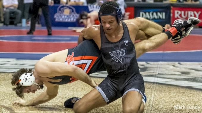 174 Round of 16 - Jordan Rogers, Oklahoma State vs Mark Hall, Penn State