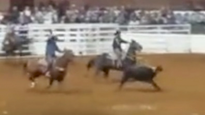 Hass And Robertson Move To Top Of Team Roping Leaderboard