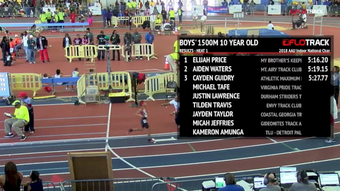 2018 AAU Indoor National Championships - Day 3 Full Replay, Part 2