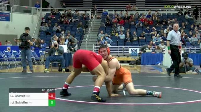 165 lbs Final - Jon Jay Chavez, Cornell vs Jonathan Schleifer, Princeton