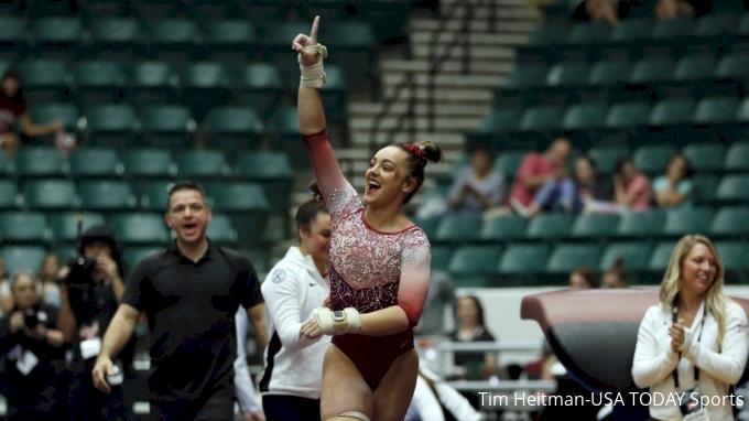 Maggie Nichols OU NCAA