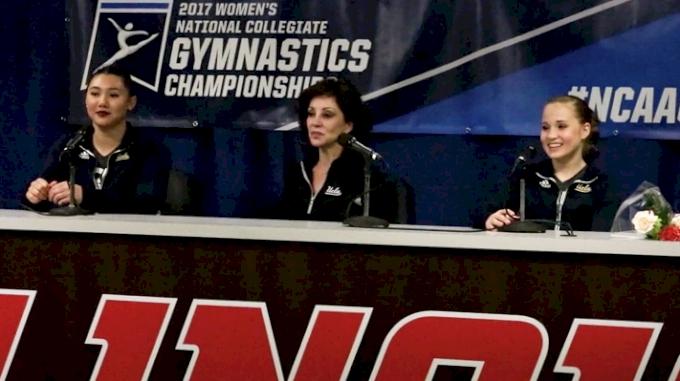 Miss Val, Kyla Ross, & Madison Kocian On UCLA's Solid Regionals Performance