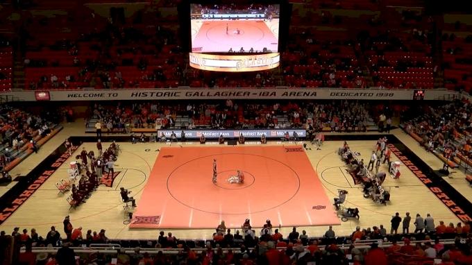 141lbs- Dean Heil, Oklahoma State vs Tommy Thorn, Minnesota