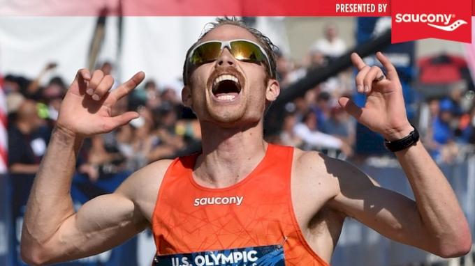 Jared Ward uses data to prepare for the Boston Marathon