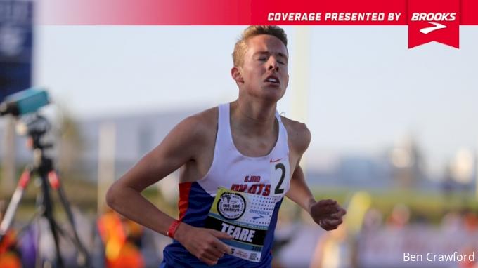 Brooks Boy's Mile - Cooper Teare 4:00.16 #10 All-Time!