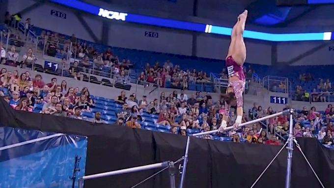 Maggie Nichols - Bars (9.95-1st), Oklahoma - 2017 Women's NCAA Championships - 2017 NCAA Championships, Semifinals