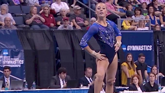 Alex McMurtry - Floor (9.95), Florida - 2017 Women's NCAA Championships - 2017 NCAA Championships, Semifinals