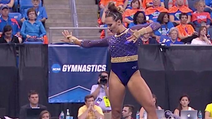 Ashleigh Gnat - Floor (9.9625-1st), LSU - 2017 Women's NCAA Championships - 2017 NCAA Championships, Semifinals
