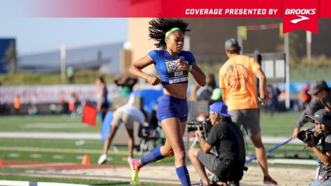 Women's 4x400m Relay Invite, Heat 2 - Allyson Felix splits 49.9!