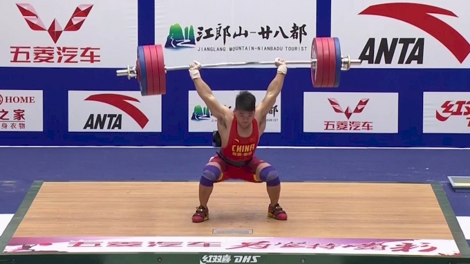 Tian Tao hits unoffical world record clean & jerk