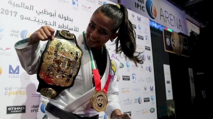 Jubilant Beatriz Mesquita Wins World Pro Championship Belt