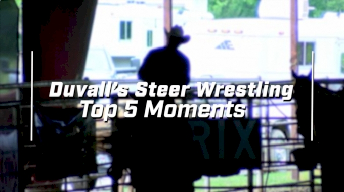 Top 5 Moments: Duvall's Steer Wrestling Jackpot 2017