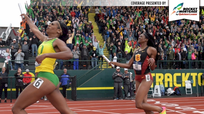 KICK OF THE WEEK: Oregon's Raevyn Rogers Anchors 4x400m To Ducks Team Title