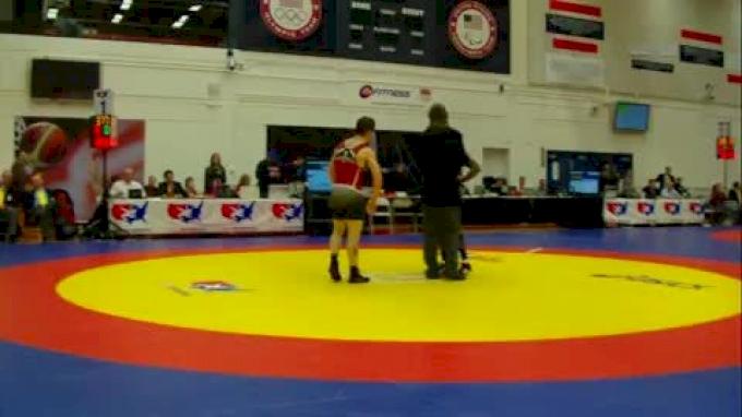 55   Obe Blanc Gator WC vs. Shawn Contos Nittany Lion WC