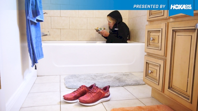 HOKA HACKS: Ice Bath with Stephanie Schappert   Up Your Game with Hacks from the Pros