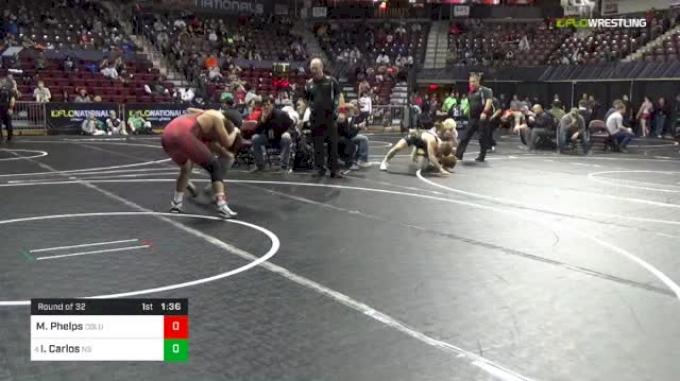 152 lbs Round Of 32 - Michael Phelps, Columbus Wrestling Club vs Ian Carlos, North Salem High School