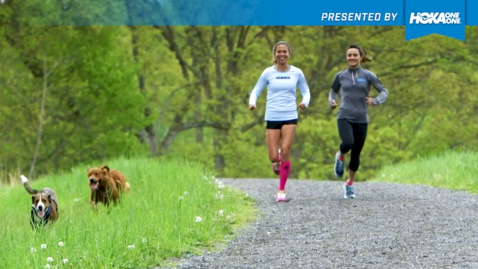 HOKA HACKS: Training with 4-Legged Friends with Ashley Higginson & Nicol Traynor | Up Your Game with Hacks from the Pros