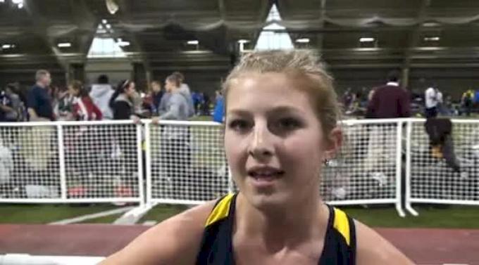 Shannon Osika Michigan 1st Meyo Mile 2012