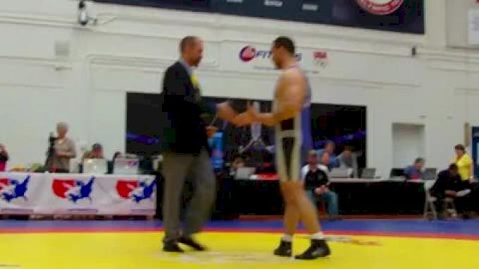 96 lbs round1 Mohammed Abdelfattah Egypt vs. Saia Lotuleli Band of Spiritual Brothers
