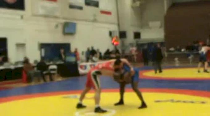 96 lbs semi-finals Mohammed Abdelfattah Egypt vs. RC Johnson Sunkist Kids