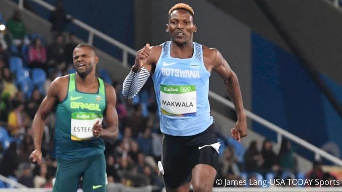 Isaac Makwala (BOT), 2016 Rio Olympics