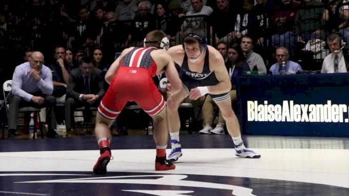 133 m, Luke Pletcher, OSU vs Corey Keener, PSU