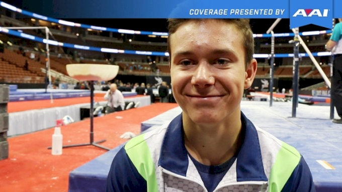Brody Malone Falls On Head & Wins P&Gs! - 2017 P&G Championships Men Day 2