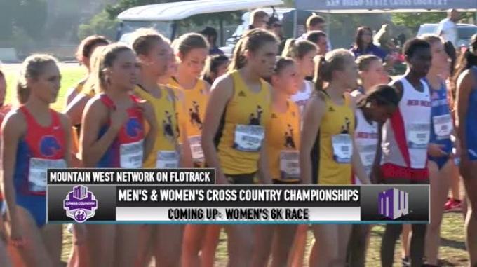 2018 Mountain West XC Championship Women's 6k