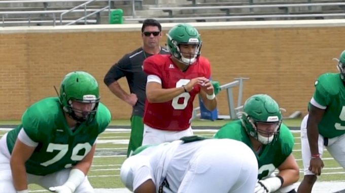 North Texas Quarterback Mason Fine Continues to Defy Expectations