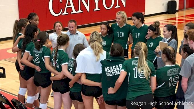 Reagan High School volleyball