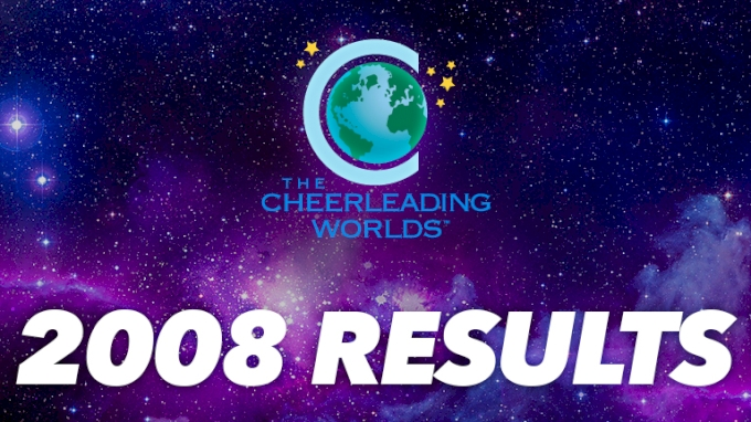 See The Results For Cheerleading Worlds 2008 All Star Cheer Dance Event On FloCheer